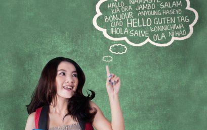 A importância em aprender línguas na juventude