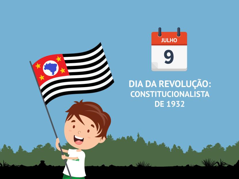 9 de Julho: dia da Revolução Constitucionalistade 1932