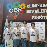 Plínio Leite Olimpiada de Robótica
