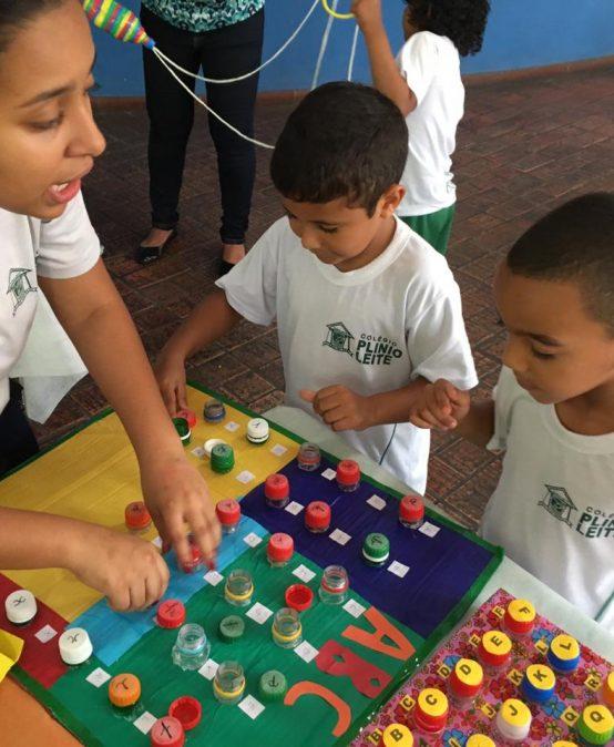 Construindo jogos na aula de Jogos Pedagógicos
