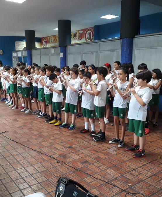 Cantata de Natal: Escola Aberta de Fim de Ano