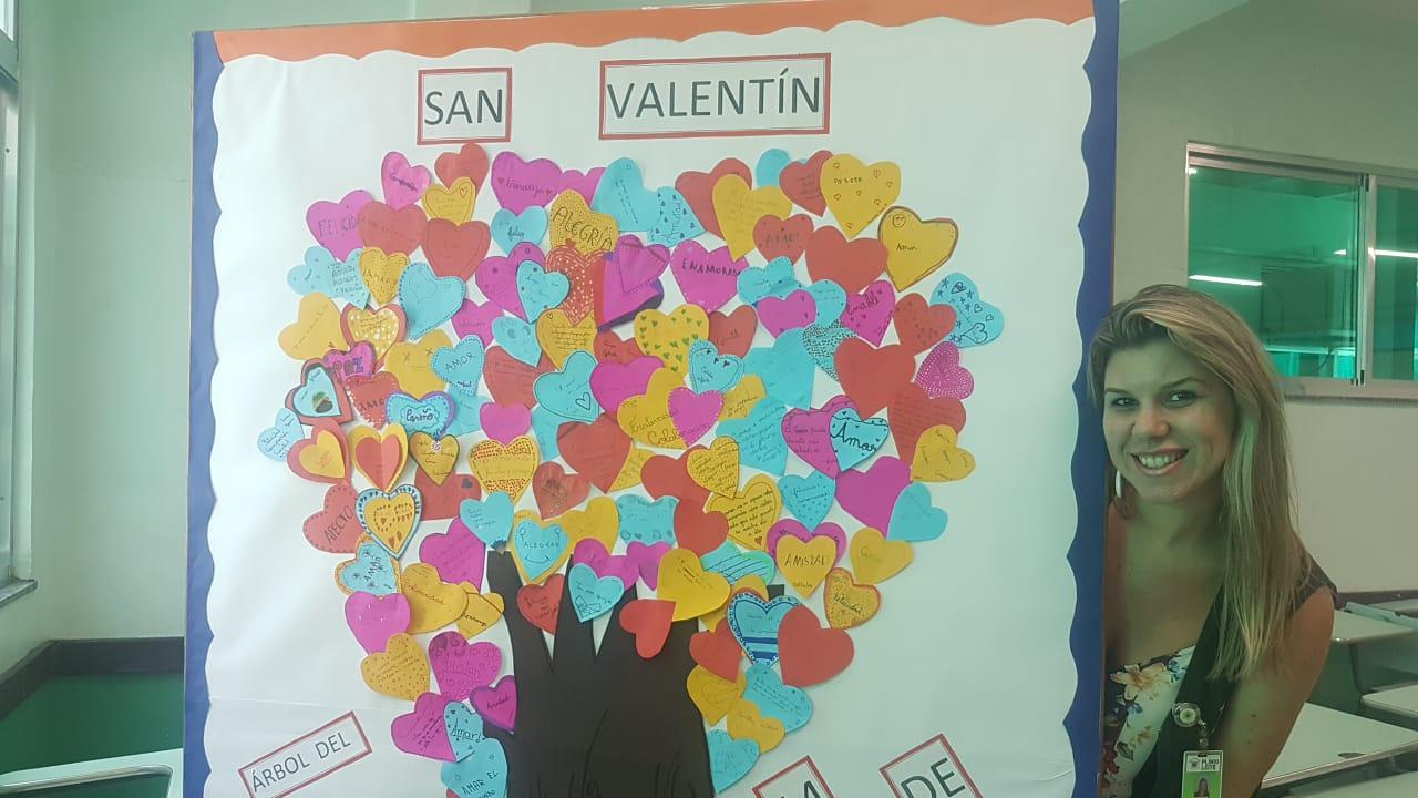 Dia de San Valentin no Plínio Leite