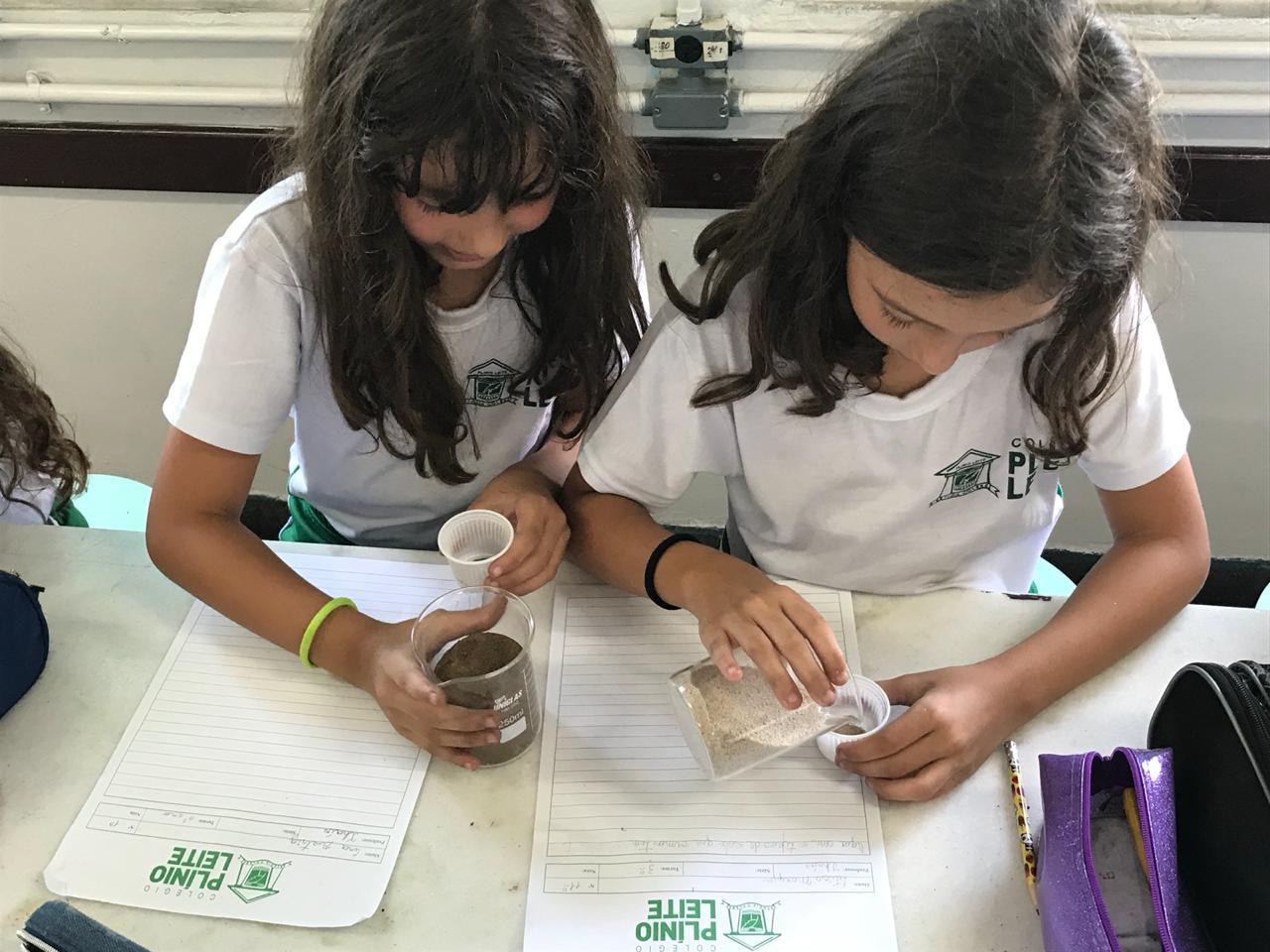 Diferentes tipos de solo: uma experiência no laboratório de Ciências