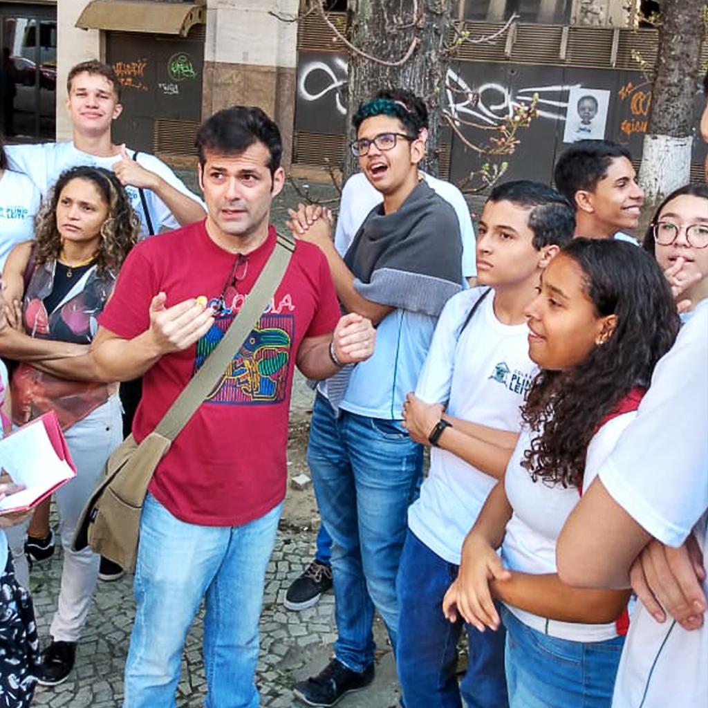 Da teoria à prática: professores e alunos visitam a cidade do Rio