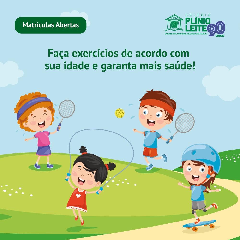 Faça exercícios de acordo com sua idade e garanta mais saúde!