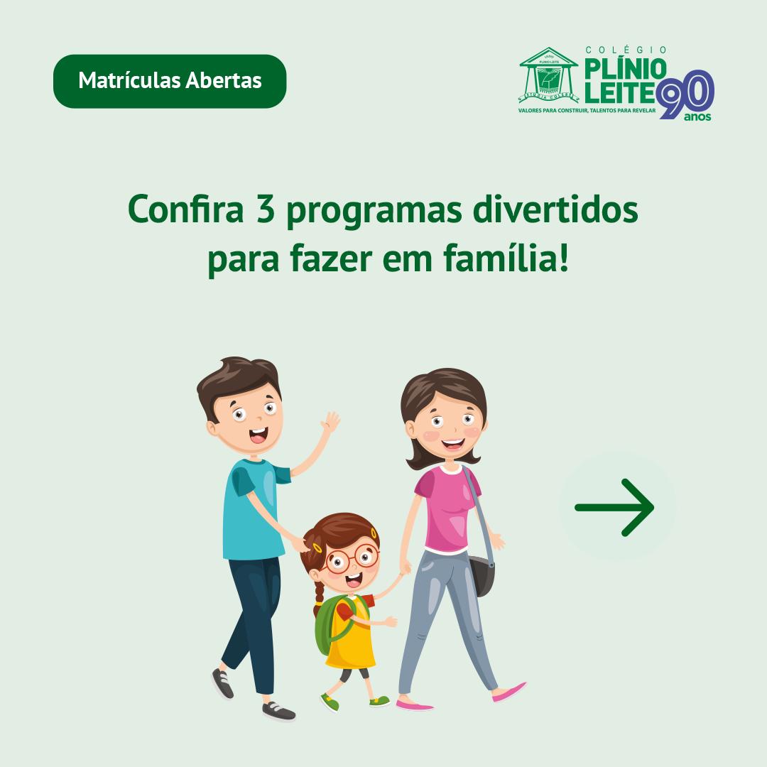 Programas em Familia