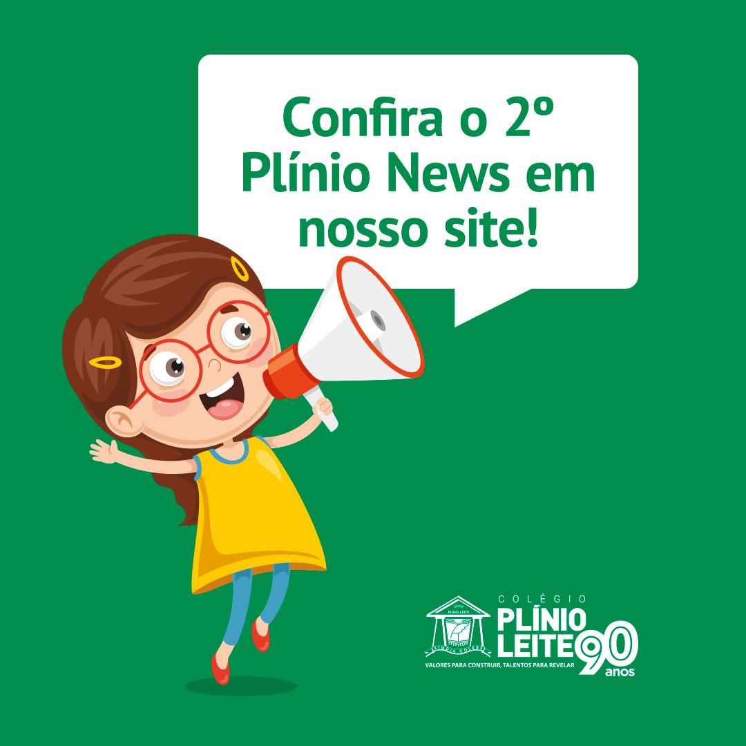 O 2º Plínio News já está no ar, confira!