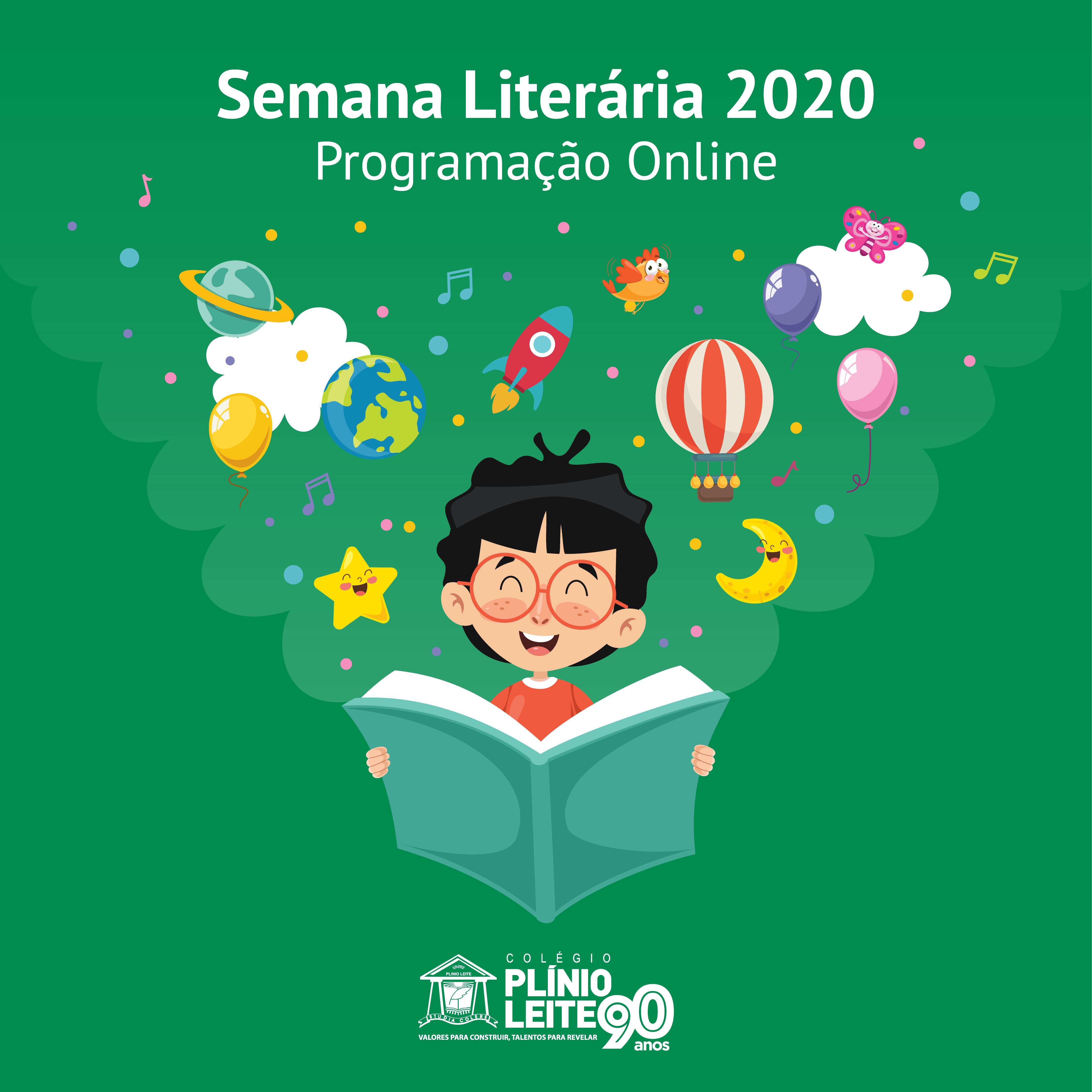 A Semana de Literária do Plínio Leite 2020