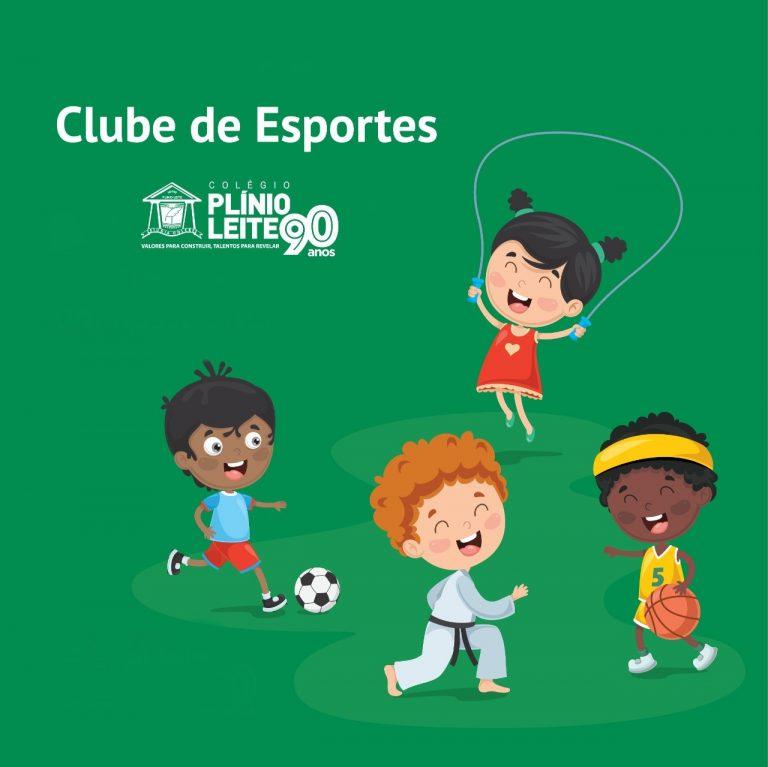 CLUBE DE ESPORTES: Conversa com atletas!