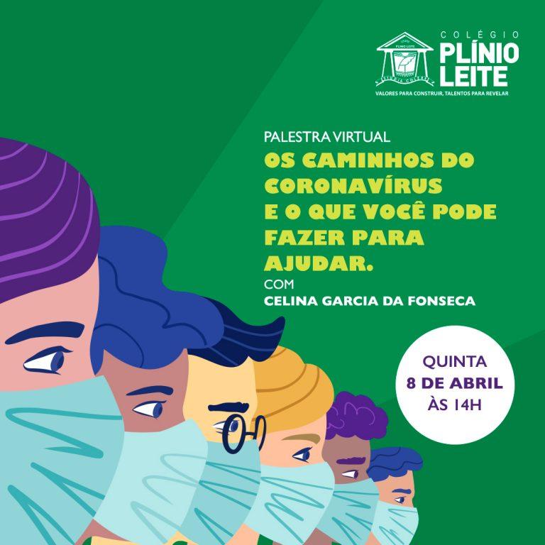 Palestra sobre o coronavírus – com a biomédica Celina Garcia da Fonseca