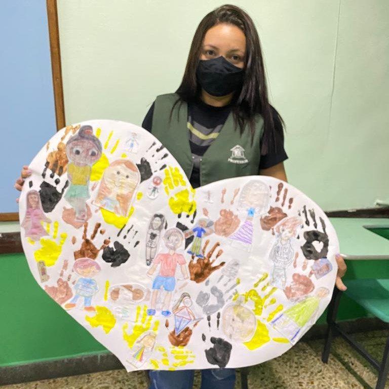 4º ano: Trabalho de Representatividade