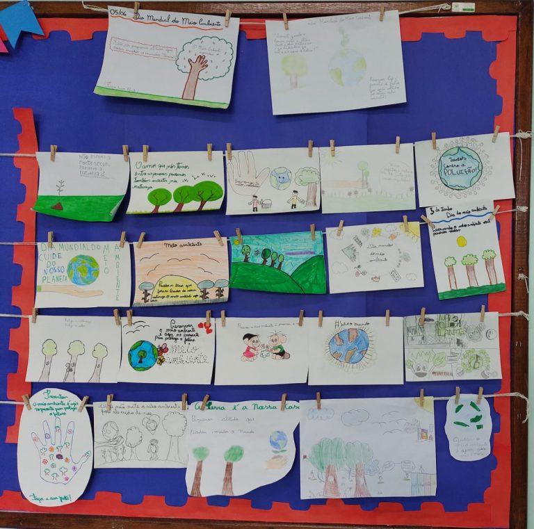 5º ano: Dia do Meio Ambiente